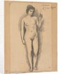 Carmen, last half 1800s by Pierre Puvis de Chavannes