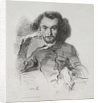 Charles Pierre Baudelaire, 1844 by Émile Isidore Deroy