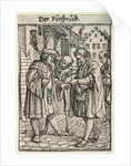 Dance of Death: The Advocate by Hans Holbein