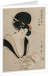 Fond of Things from the series Eight Views of Favorite Things of Today's World, late 1790s by Kitagawa Utamaro