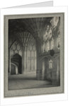 Gloucester Cathedral - Cloisters: South and West Alleys, c. 1900 by Frederick H. Evans