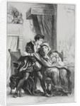 Hamlet: Hamlet and the Queen, 1834 by Eugène Delacroix