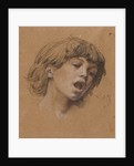 Head of a Boy Singing, c. 1898 by Luc-Olivier Merson