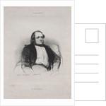 Henri Monnier, 1840 by Paul Gavarni