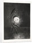Homage to Goya: The Marsh Flower, a Sad Human Head, 1885 by Odilon Redon