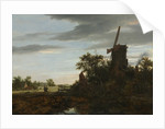 Landscape with a Windmill, 1646 by Jacob van Ruisdael
