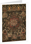 Mandala, early 18th Century by Unknown