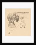 Menu from the Dinner Tarnais, 1896 by Henri de Toulouse-Lautrec