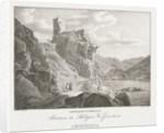 Nieder-oesterreich, Ruinen des Schlosses Werfenstein by Jakob Alt