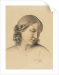 Portrait of a Young Woman, c. 1854-1858 by Octave Tassaert