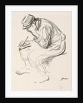 Prisoner of War Writing a Letter by Jean Louis Forain