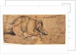 Rao Ram Singh?s Elephant Gone Amok, c. 1700 by Unknown