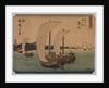 Sail Boats, 1839-1864 by Ichiryusai Hiroshige II