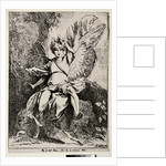Specimens of Polyautography: The Angel at the Tomb of Christ, 1801 by Benjamin West