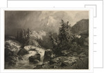 Storm in the Alps by Alexandre Calame