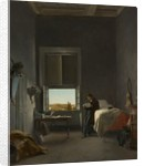 The Artist in His Room at the Villa Medici, Rome, 1817 by Léon Cogniet