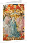 The Coronation of the Virgin with the Trinity, c. 1400 by Master of Rubielos de Mora