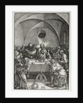 The Large Passion: The Last Supper, 1510 by Albrecht Dürer