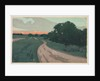 The Long Road or Argilla Road, c. 1898 by Arthur Wesley Dow