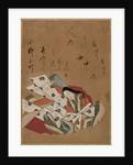 The Poetess Ono no Komachi, 17th Century by Shojo Shokado