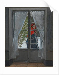 The Red Kerchief, c. 1868-73 by Claude Monet
