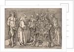 The Six Saints, c. 1535 by Niccolo Boldrini