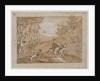 The Stag Hunt, 1790s by Giovanni Domenico Tiepolo