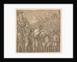 The Triumph of Julius Caesar: Soldiers Carrying Vases, 1593-99 by Andrea Andreani