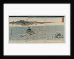 The Whirlpools of Awa, 1857 by Utagawa Hiroshige