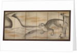 Tiger, early to mid-1600s by Soga Nichokuan (attributed to)