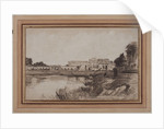 View of Versailles, 1800s by Antoine Vollon
