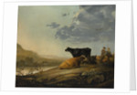 Young Herdsmen with Cows, ca. 1655-60 by Aelbert Cuyp