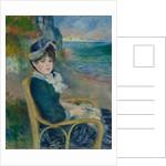 By the Seashore, 1883 by Pierre-Auguste Renoir