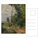 Côte des Grouettes, near Pontoise, probably 1878 by Camille Pissarro