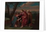 Christ Healing the Blindman, ca. 1725-30 by Gerardus Duyckinck