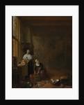 A Kitchen, ca. 1643 by Hendrik Martensz. Sorgh