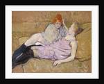 The Sofa, ca. 1894-96 by Henri de Toulouse-Lautrec