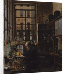 In the Laboratory, ca. 1885-87 by Henry Alexander