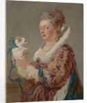 A Woman with a Dog, ca. 1769 by Jean-Honore Fragonard