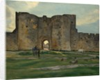 Porte de la Reine at Aigues-Mortes, 1867 by Frédéric Bazille