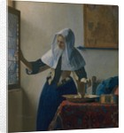 Young Woman with a Water Pitcher, ca. 1662 by Jan Vermeer