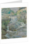 Waterfall, ca. 1889-91 by John Henry Twachtman