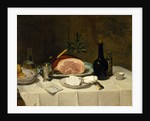 Still Life with Ham, 1870s by Philippe Rousseau