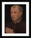 Man in Prayer, ca. 1430-35 by Workshop of Robert Campin