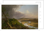 View from Mount Holyoke, Northampton, Massachusetts, after a Thunderstorm - The Oxbow, 1836 by Thomas Cole