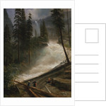 Nevada Falls, Yosemite, 1872 or 1873 by Albert Bierstadt