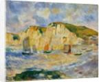 Sea and Cliffs, ca. 1885 by Pierre-Auguste Renoir