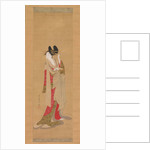 Courtesan with a Letter in Her Mouth, 1756-1815 by Hosoda Eishi
