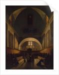 The Choir of the Capuchin Church in Rome, 1814-15 by Francois-Marius Granet