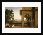 Classical Landscape with Figures by Henri Mauperché